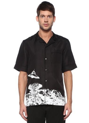 Valentino Gömlek Siyah